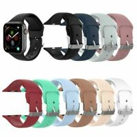 1xSweat-proof Sport Silicone Band Strap for Apple Watch iWatch 1 2 3 4 38mm/42mm