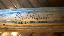 "Vintage Brooklyn Dodger - Duke Snider Wilson Big Leaguer Baseball Bat 33"" - 31oz"