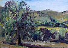 Topanga State Park #3 Oil Plein Air Impressionism Landscape John Kilduff