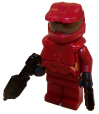 **NEW** LEGO Custom - BLOOD RED HALO SPARTAN - Master Chief Xbox Game Minifigure