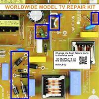 12pcs Parts Kit for EMERSON LF501EM5F BA3AU0F0102 3 BA3AU0F0102 2 power board