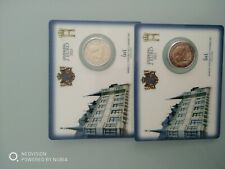 2 Coincards 2*2 EURO KMS BU 2021 Luxembourg rare