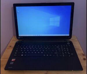 Toshiba Satellite C50Dt-B-107 Touch Screen Laptop 256SSD 8GB RAM Windows 10