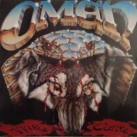 OMEN The Curse 1986 Dutch manufactured vinyl LP EXCELLENT CONDITION