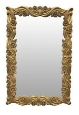 French Style,Wood ,Gold Leaf, Hand Carved, Wall Mirror