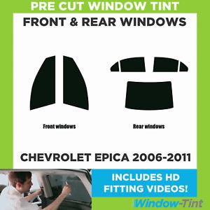 Pre Cut Window Tint - Chevrolet Epica 2006-2011 - Full (Front & Rear)