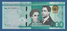 DOMINICAN REPUBLIC -- 500 PESOS DOMINICANOS ( 2014 ) -- UNC -- BB -- PICK 192a .