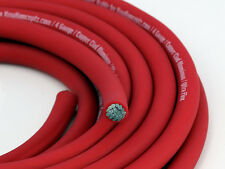 KnuKonceptz KCA RED Ultra Flex TRUE AWG 4 Gauge Power Wire Cable - 20'