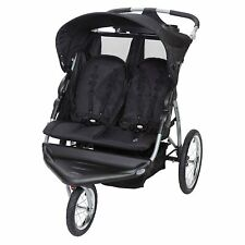Baby Trend Expedition Ex Swivel Travel Jogging Double Baby Stroller (Open Box)