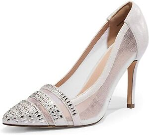 Women's High Stilettos Heel Pump Shoes Slip On Wedding Party Dress Pump Shoes