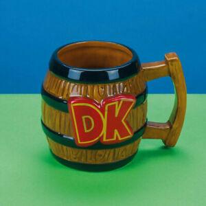 Donkey Kong Barrel Shaped Mug
