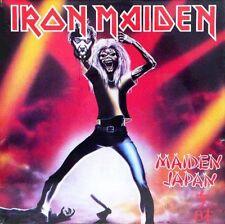Iron Maiden - Maiden Japan Decapitated Paul Di'Anno Vinyl LP Sticker Or Magnet