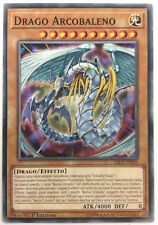 DRAGO ARCOBALENO  LED2-IT043 Comune in Italiano YUGIOH