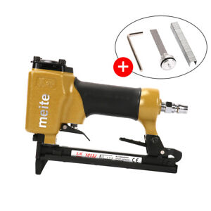 Air Powered Nail & Staple Gun Nailer Stapler Operated Upholstery DIY Pneumatic