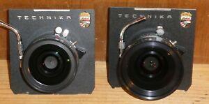 2 x Sinar Sinaron-W MC lenses for Linhof Technika - 1:4.5 75mm & 1:4.5 65mm