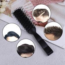 Men Plastic Vent Hair Brush Comb Anti-Static, Massage Hair Care Ribs C*ss