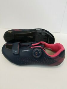 NWOB Shimano SH-RP5W Road Cycling Shoes BOA ~  3-Hole ~ Women's ~ Size 5.5