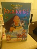 Walt Disney Classic Pocahontas (VHS, 2000) Vintage and holgram with the logos