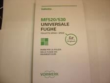 Vorwerk Folletto 4 panni Per fughe per SP520 -SP530 PULILAVA originali