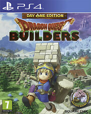 Dragon Quest Builders D1 Day One Edition PS4 Playstation 4 IT IMPORT SQUARE ENIX