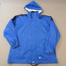 K-WAY 1990s Vintage Windbreaker Hooded Rain Jacket Festival Cagoule XL #D3101