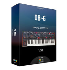 OBERHEIM OB-6 VST Plug-in AU VST for OSX MAC samples sounds PLUG-IN KONTAKT NKI