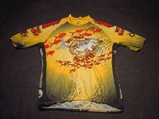 HOUSTONIAN HAMMER HEADS The Offis SUGOI Cyclist Short Sleeve Jersey Size Medium