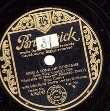Bing Crosby: Sing a Song of SUNBEAMS + east side of Heaven