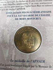MEDAILLE MONNAIE DE PARIS ENCARTS MORY-MONTCRUX TIRAGE 250 EX