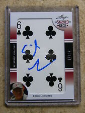 2011 Leaf Razor Poker Stacked Deck ERICK LINDGREN /52