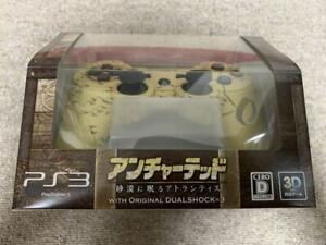 PS3 DUALSHOCK3 SONY CONTROLLER UNCHARTED RARE JPN IMPORT NEW SEALED