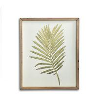 Botanica Green Fern Leaf Framed Canvas Art Print 48cm x 39.5cm