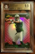 2013 TOPPS FINEST Geno Smith RC Pink Refractor SSP 2/10 BGS 9.5 GEM MINT ROOKIE