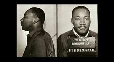 1963 Martin Luther King Jr Birmingham Jail MUG SHOT PHOTO Black Civil Rights
