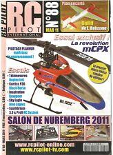 """RC PILOT N°88 PLAN : """"BULLIT"""" AVION RACER INDOOR / DECORER UN AVION EN MOUSSE"""