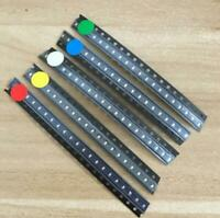 100pcs 5 colors 0603 LED (Red Yellow Blue Green White) Lamp Light Emitting Diode