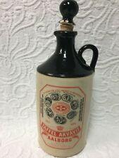 Taffel Akvavit Aalborg Vintage Ceramik Bottle