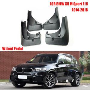 OEM Splash Guards Mud Guards Flaps FOR BMW X5 M Sport F15 Witout Pedal 2014-2018