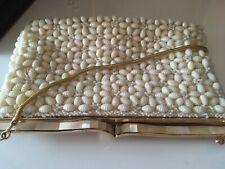 Vintage Shell Beaded Handbag