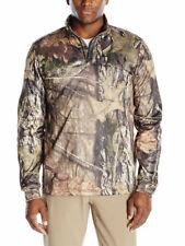 $75 Under Armour Storm ColdGear Camo ¼ Zip Men's Sz LARGE Mossy Oak 1291448-278