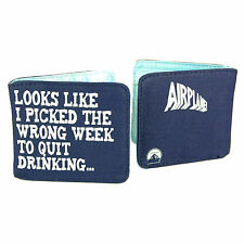 Airplane Wallet. Cool Retro Bifold PVC Wallet For Him Coin Card Cash SALE ITEM