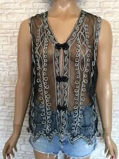 Polyester Tank/Cami Vintage Tops & Shirts for Women