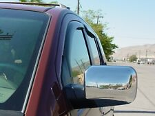 In-Channel Wind Deflectors for a 2004-2010 Infiniti QX56