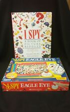 I Spy Eagle Eye family game by Briarpatch 2009 and I Spy Book of Picture Riddles