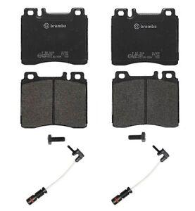 Front Low-Met Brake Pads Set & 2 Sensors Brembo For Mercedes W140 300SE Code 212
