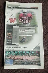 2005 Westmar High School - Lonaconing Maryland  - Football Guide