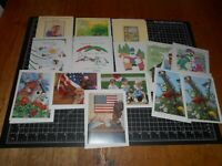 14 Brand New Vintage Greeting Cards With Envelopes
