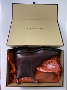 Brand New Mens RM Williams Brown Comfort Craftsman Boot AU / UK 8