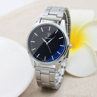 Men's Stainless Steel Quartz Analog Wrist Watch Sport Army Watches Gifts Luxury