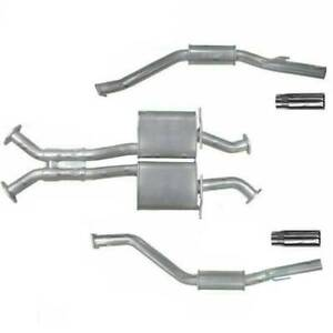 """Pacemaker - Holden Monaro CV8Z (2005 - 2006) 5.7L & 6.0L 3"""" Inch 409 Stainless S"""